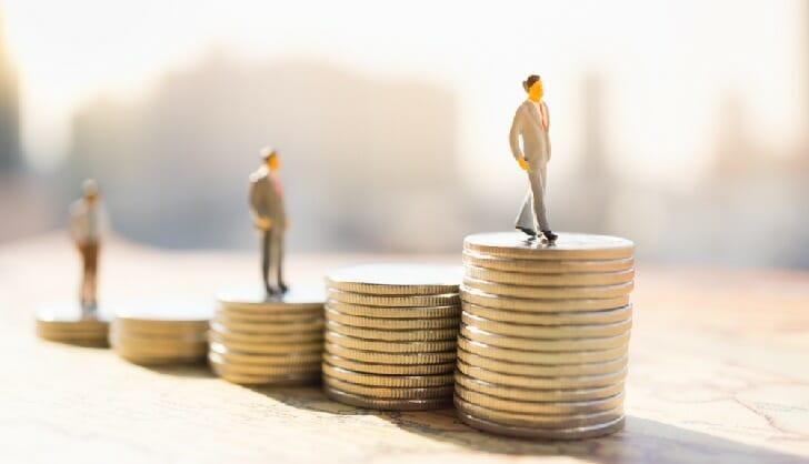 バイナリーオプションで取引した場合の資金の増え方